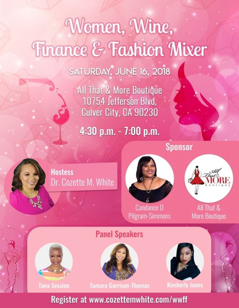Women, Wine, Finance, Fashion Mixer