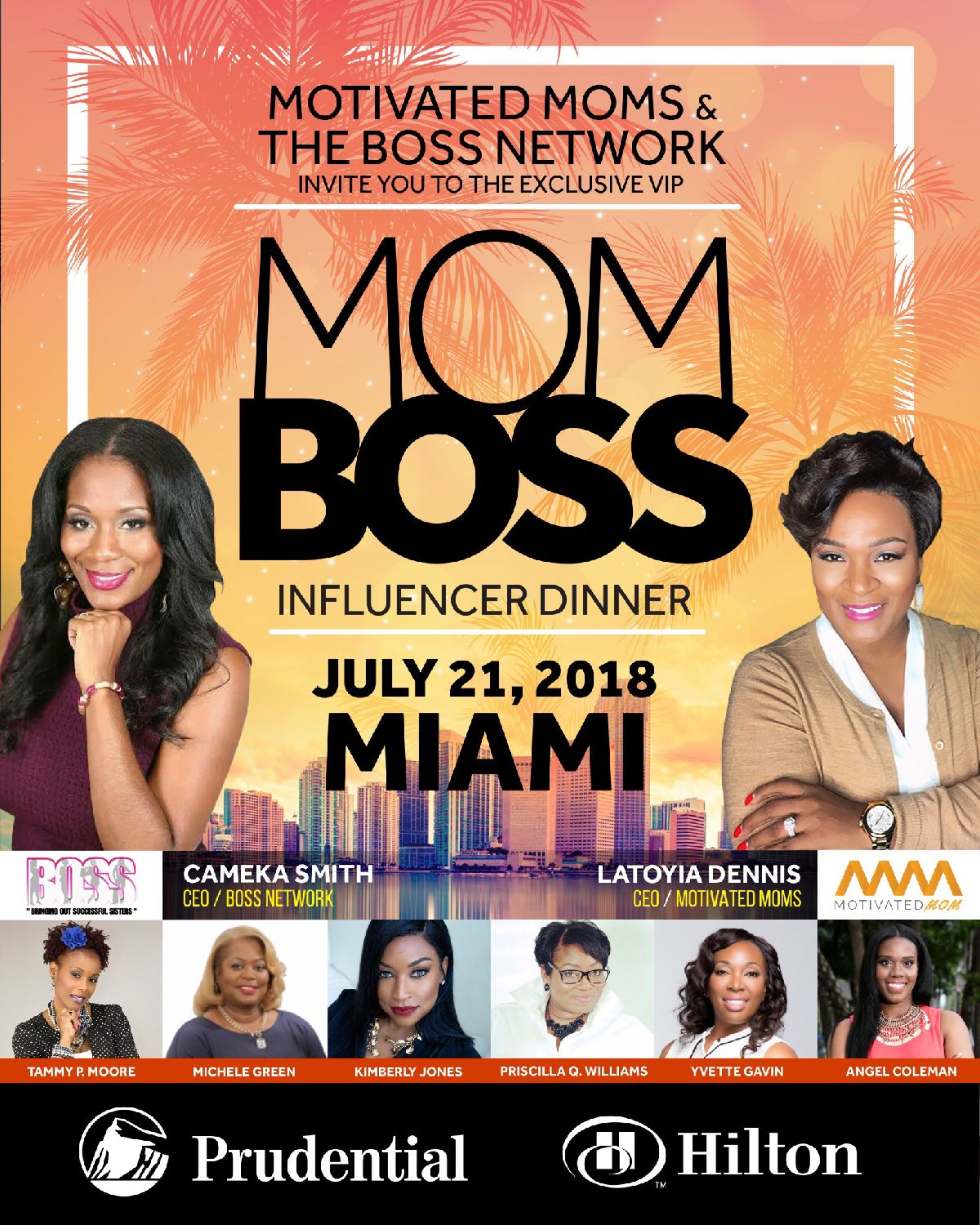 MOM Boss Influencer Dinner